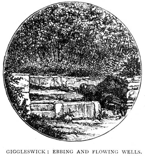 Early drawing of the Well