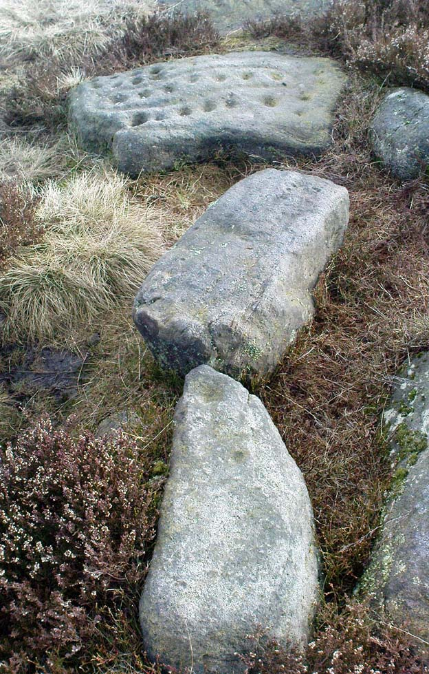 The Young Idol Stone (bottom) and its parental Idol Stone above