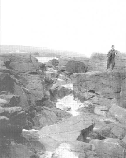 1894 photo of Druid's Altar (courtesy Clive Hardy)