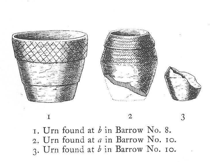 Urns found near Dobrudden
