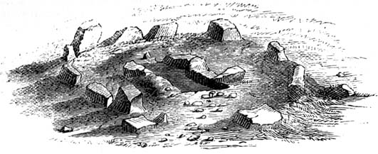 Early drawing of 'Grubstones'
