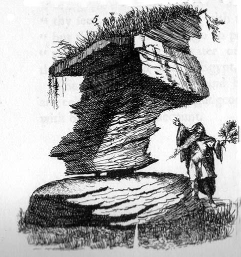 Rishworth Moor Rocking Stone, 1775