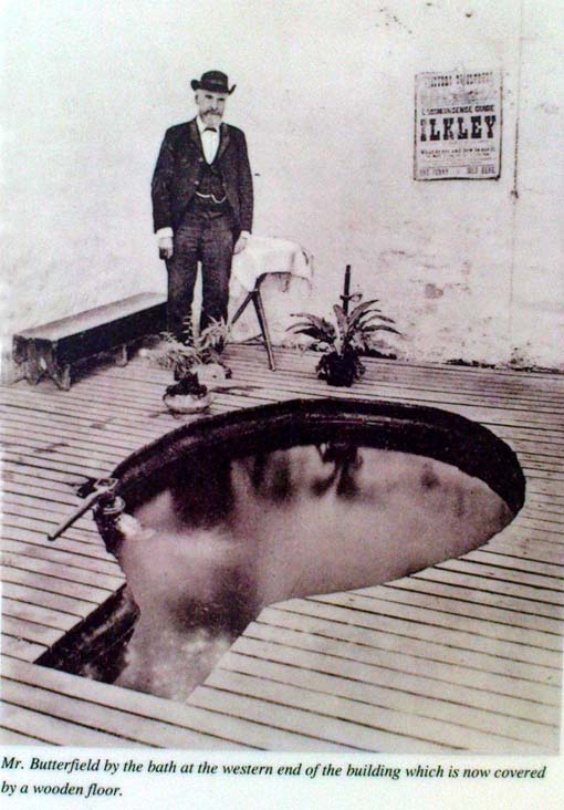 Rare photo of William Butterfield (the old keeper of White Wells), who reported seeing 'little-people' here
