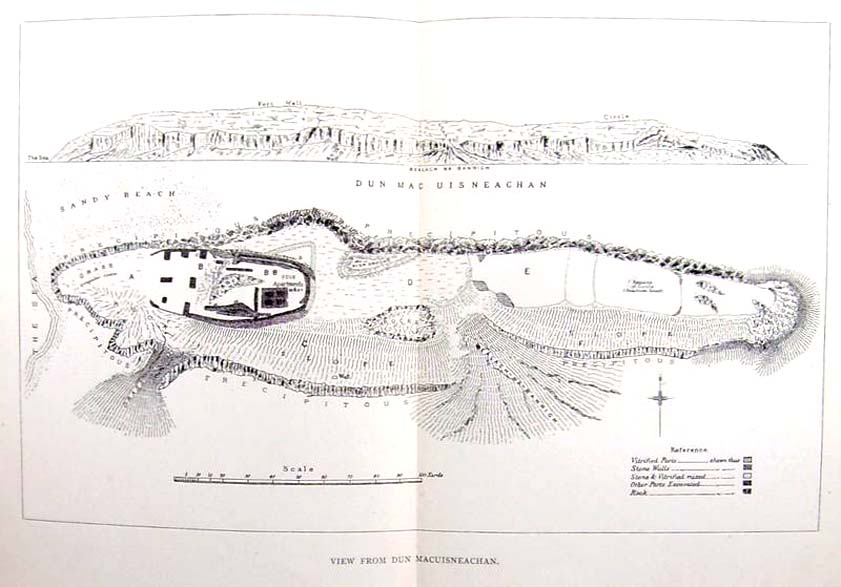 Early plan of the Fort, 1885