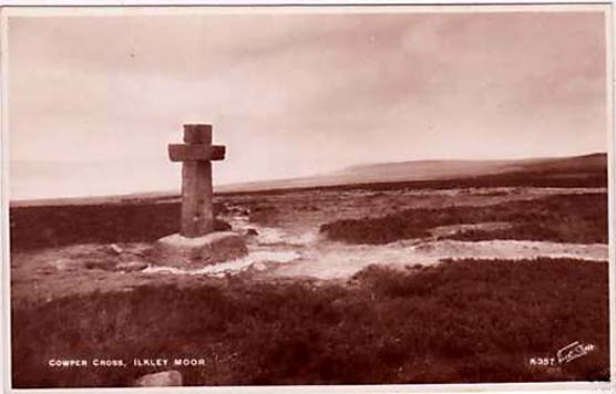 1920s postcard of Cowper's Cross