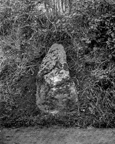 Picts Cross Stone (after Alfred Watkins, 1930)
