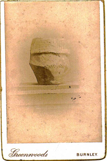 Rare 1842 photo of urn from Delf Hill