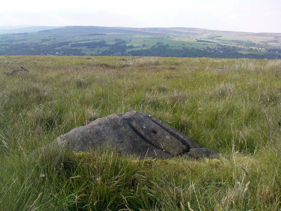Pitchfork Stone, Ilkley Moor