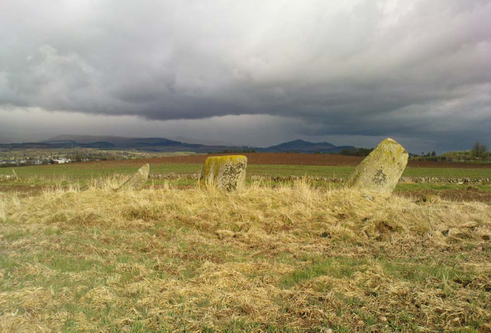 Glenhead Farm standing stones