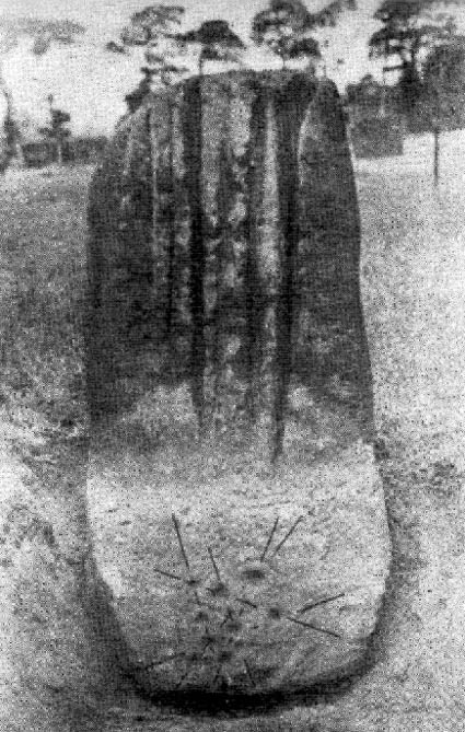 Robin Hood's Stone (after Alfred Watkins)