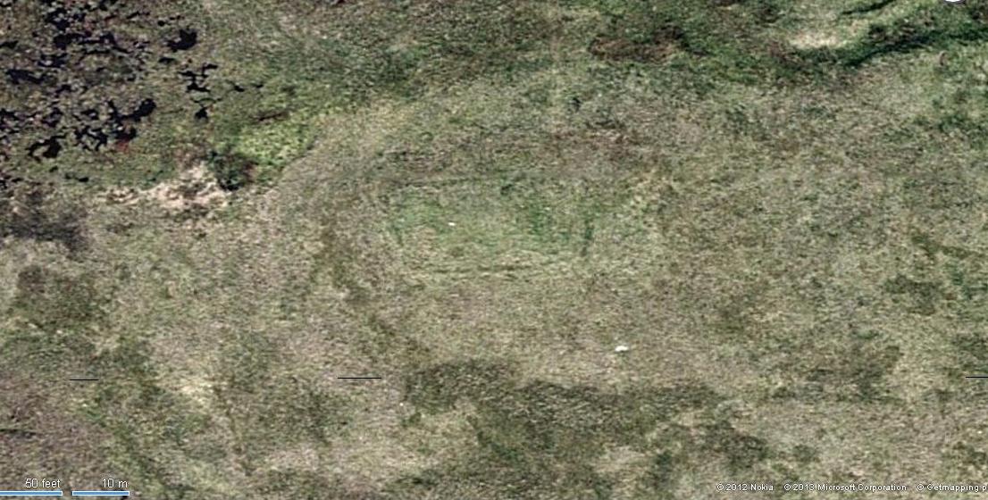 Aerial view of Bengenie enclosure
