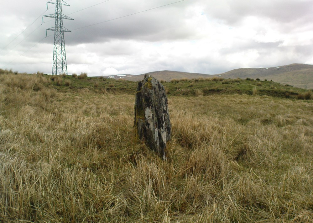 Small standing stone, looking east