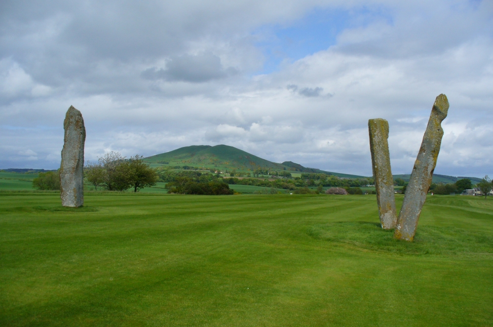 The standing stones of Lundin