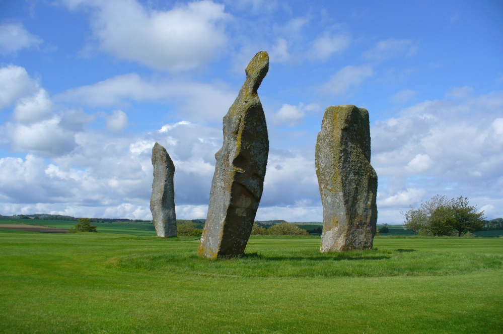Lundin stones, looking NE