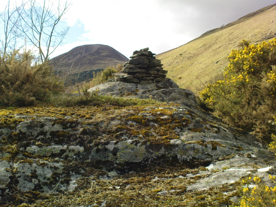 The rocky cairn of St. Palladius