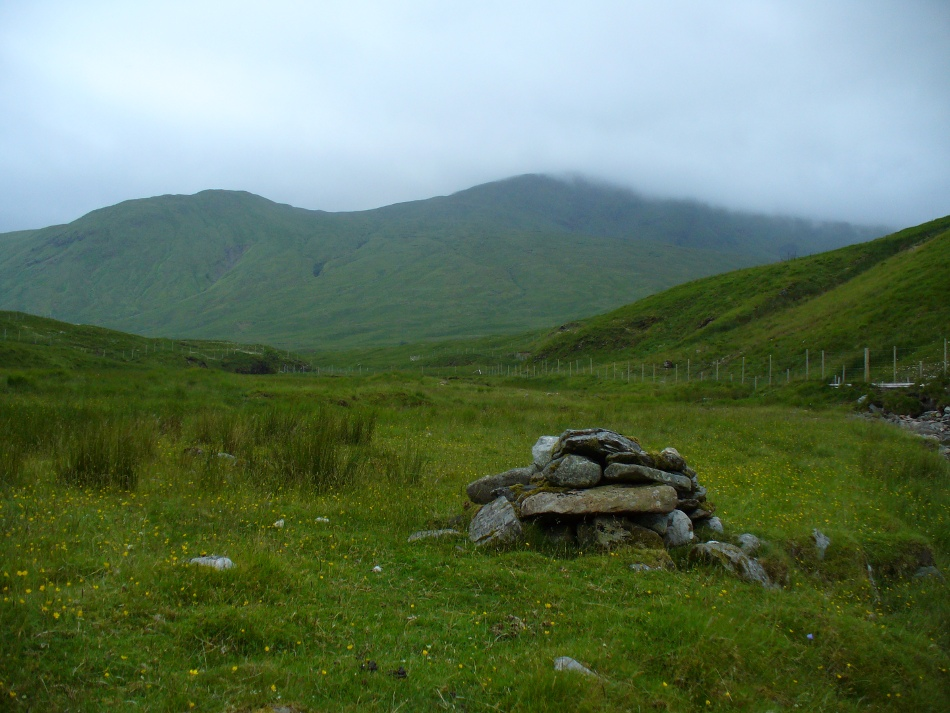 MacRee's Cairn, looking south