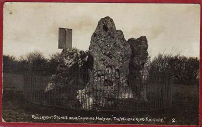 1920s postcard of the site