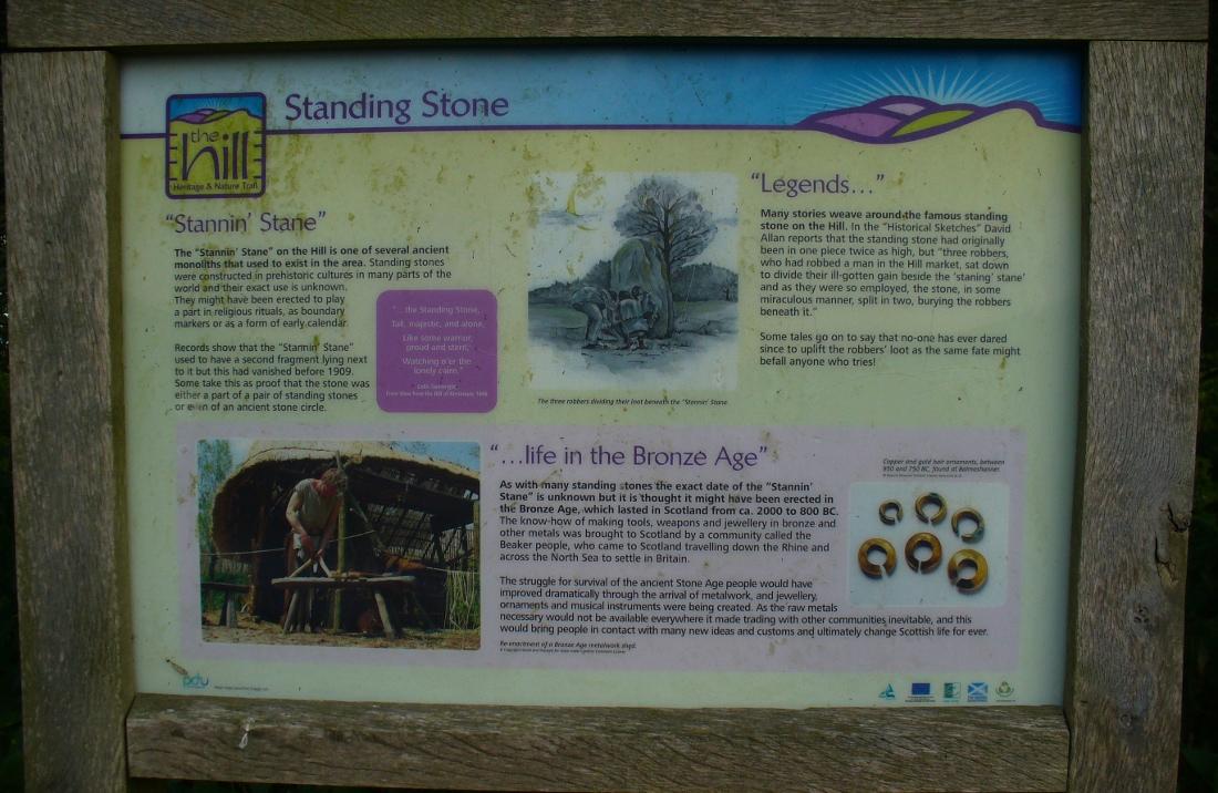Notice board telling tales