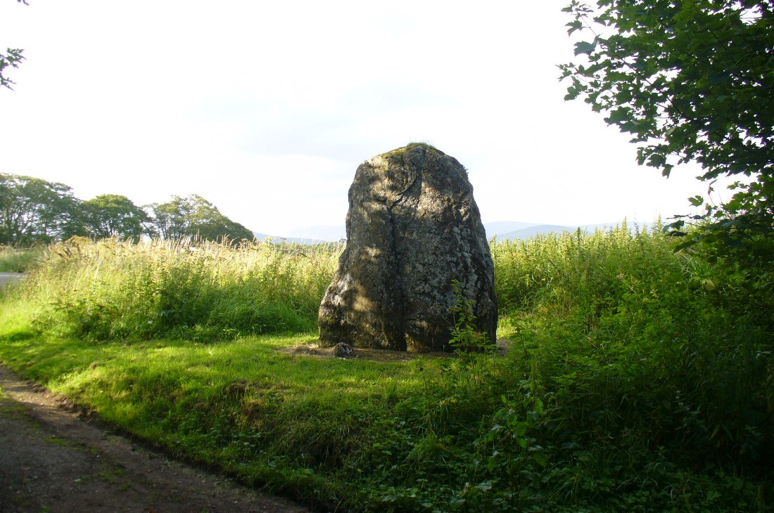 Kirriemuir Hill standing stone