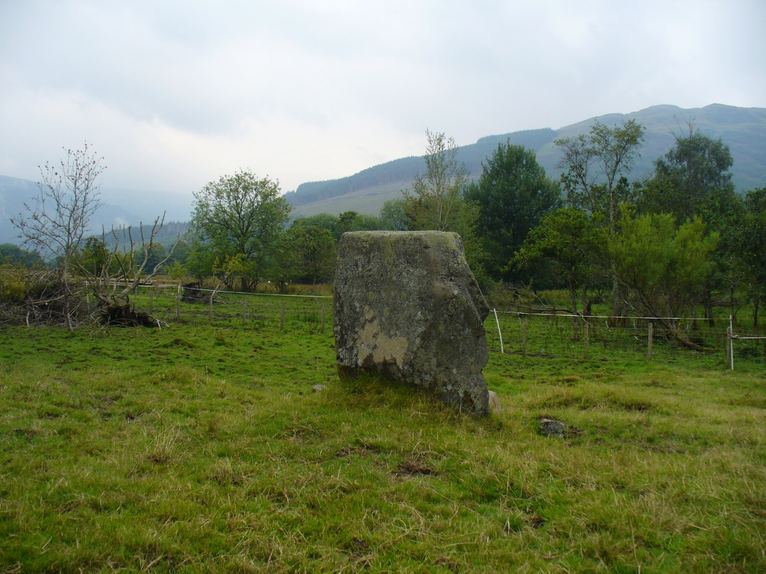 Puidrac Stone, looking southeast