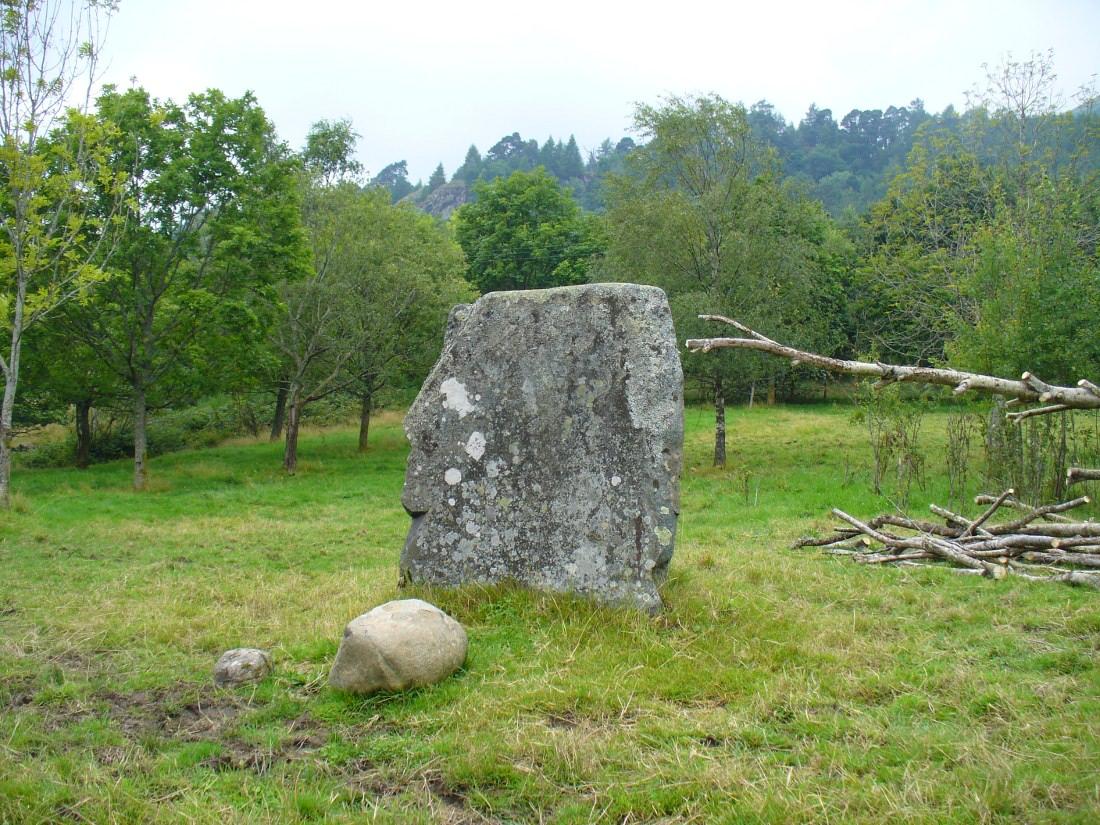 Puidrac Stone, looking north