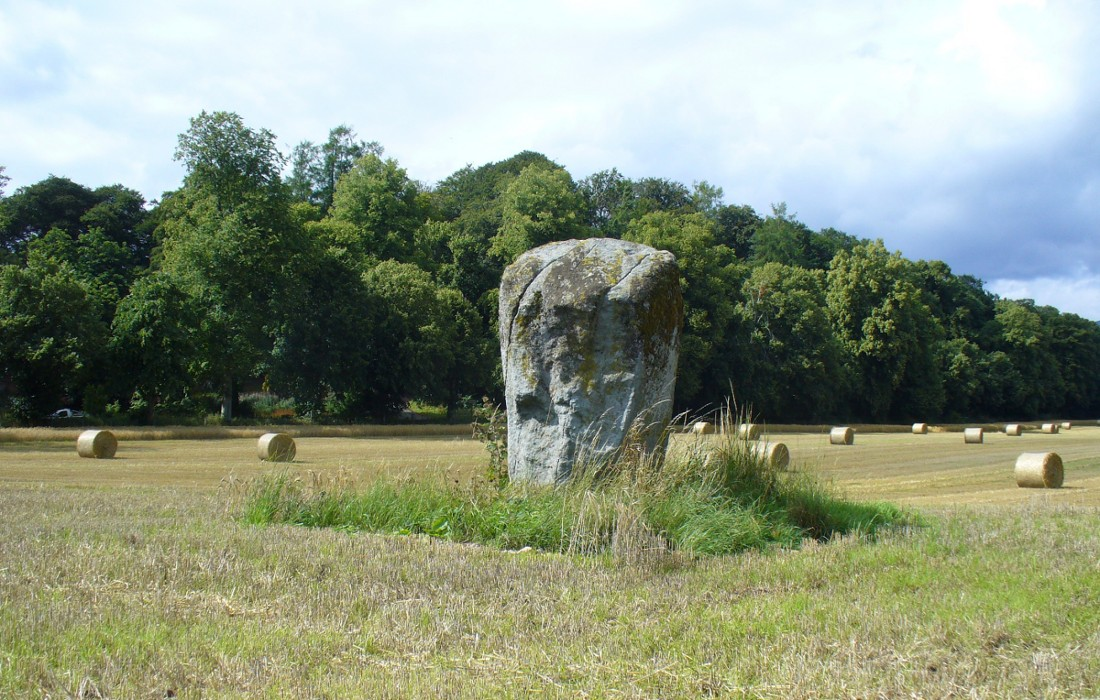 Dargill stone, looking NW