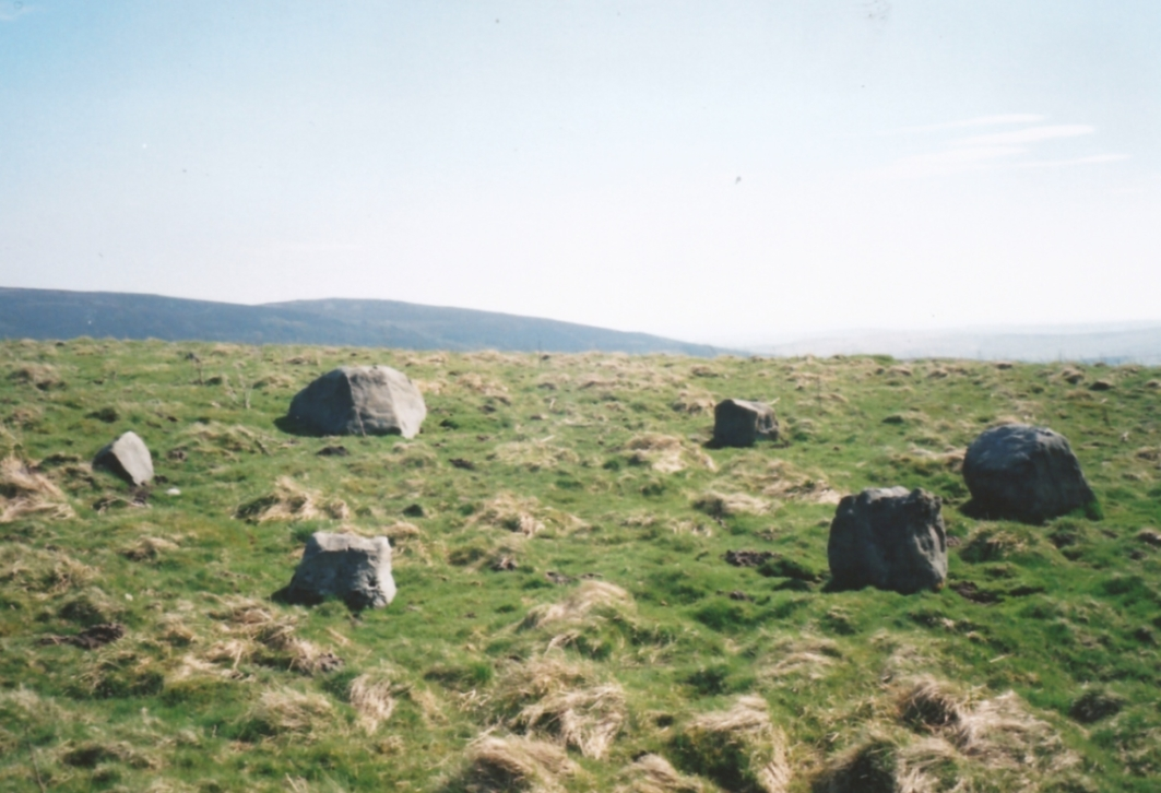 Appletreewick stone circle (courtesy Paul Daw)