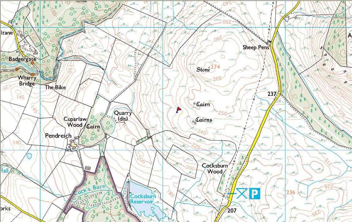 Split Stone map
