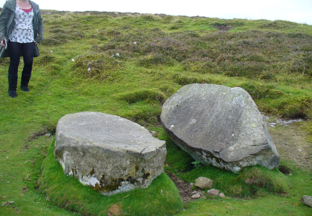 The Split Stone, looking east