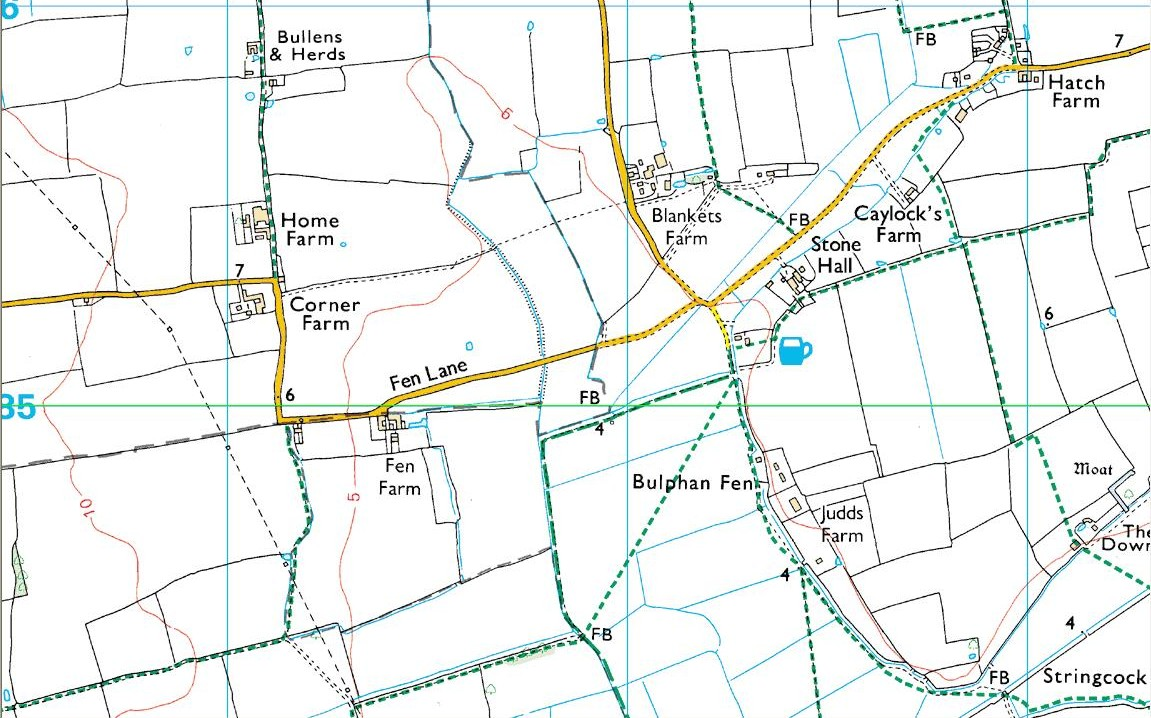 Church Field, N.Ockendon map