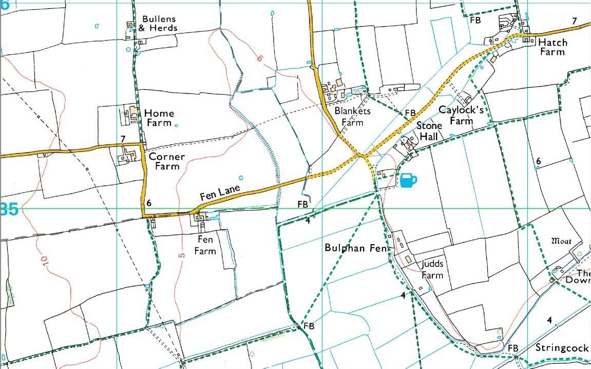 Church Field, N.Ockendon map