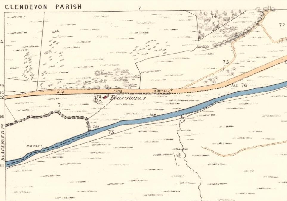1860 OS-map of site location