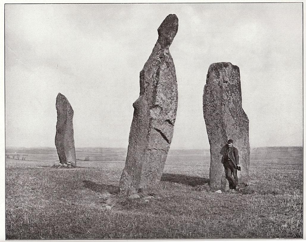 Photo of stones, c.1900