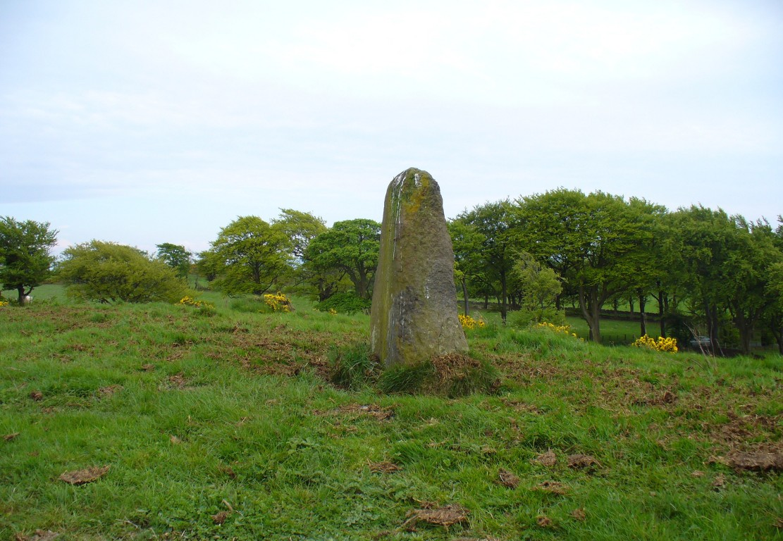 Gala Braes standing stone