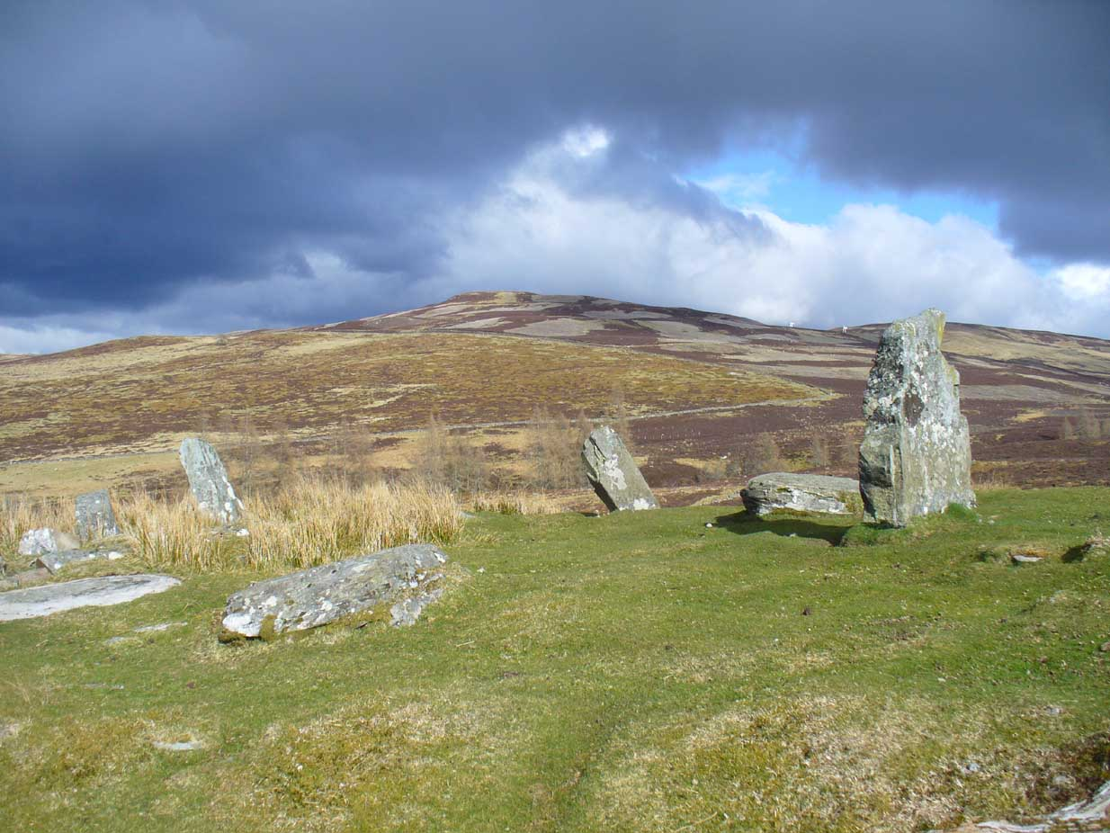 Greenland stone circle, Kenmore