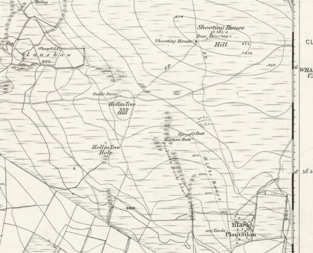 1894 map of shooting target