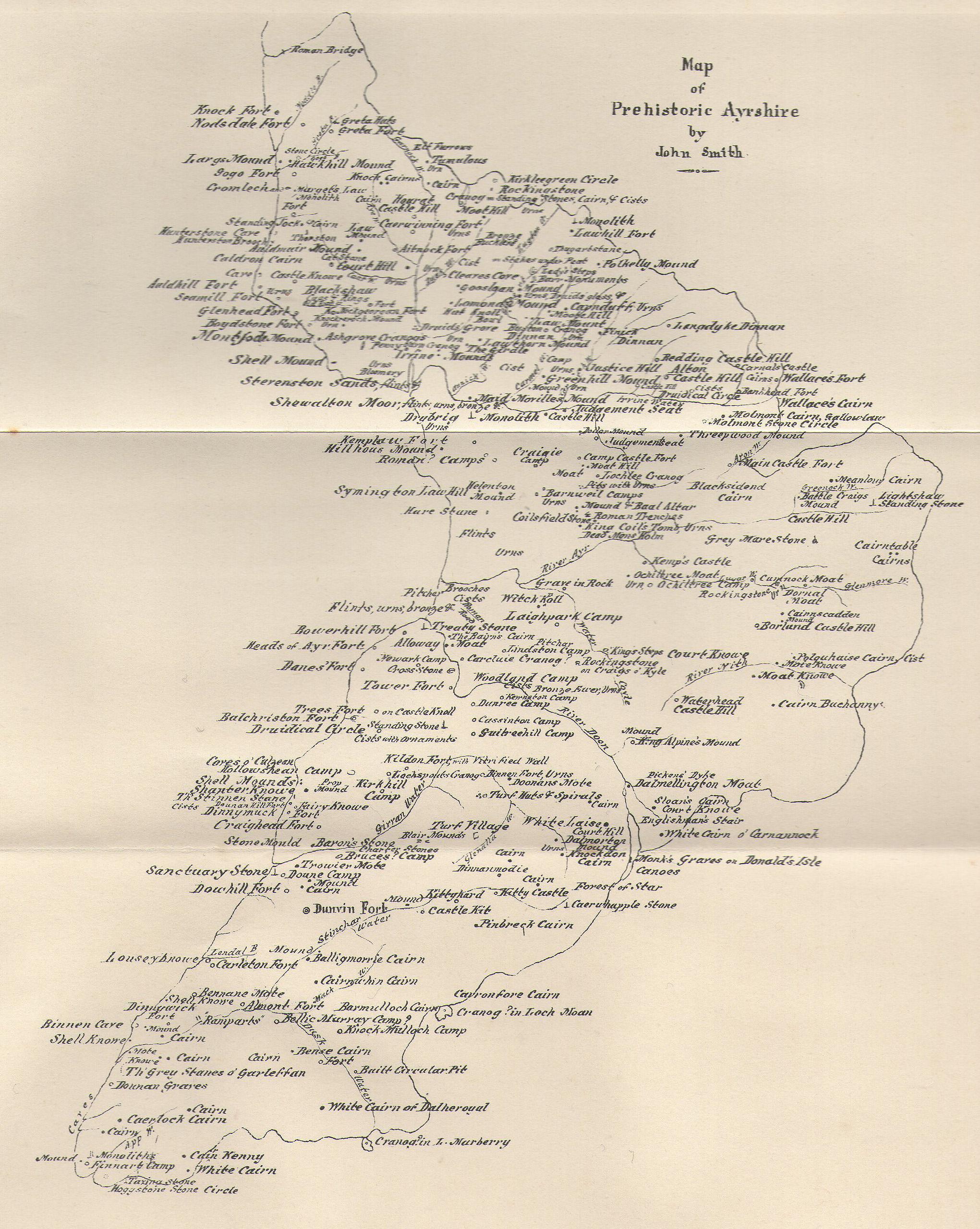 John Smith's 1895 map