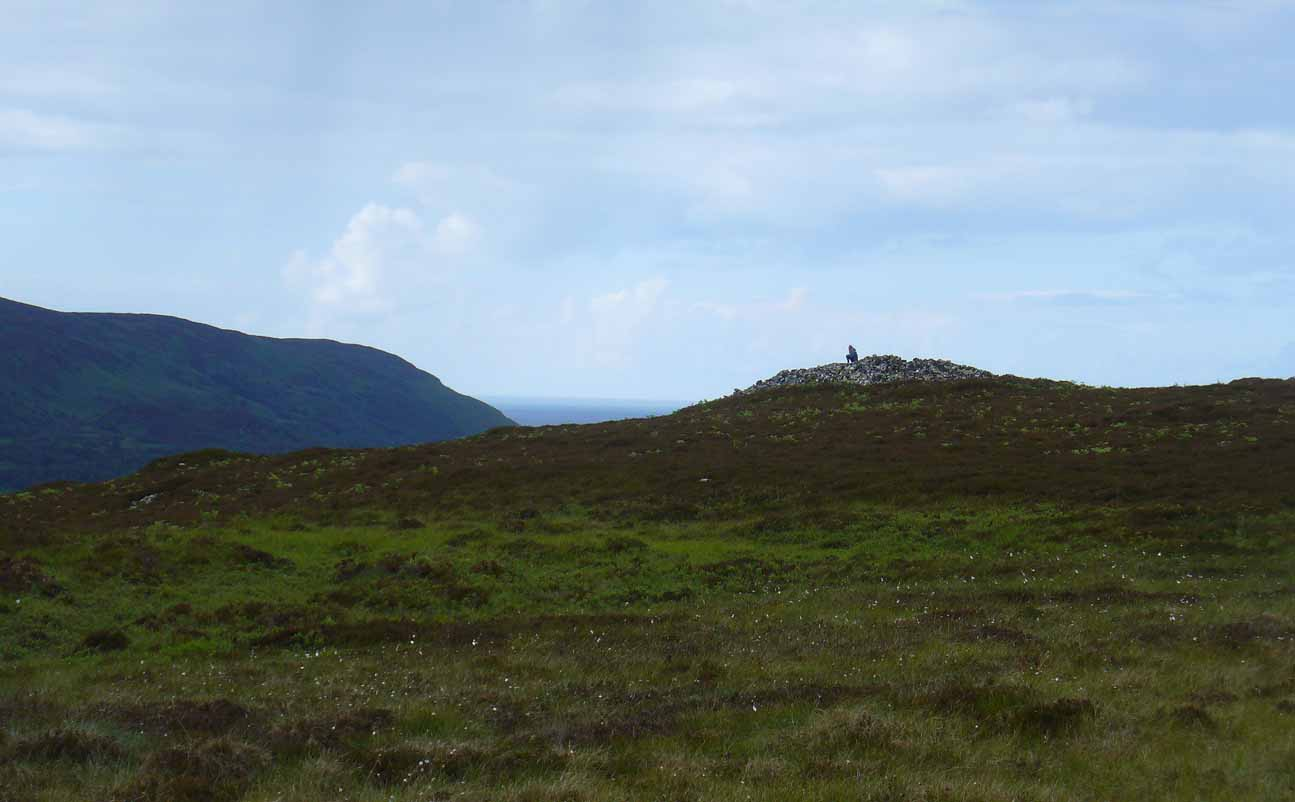 Queen's Cairn, looking north