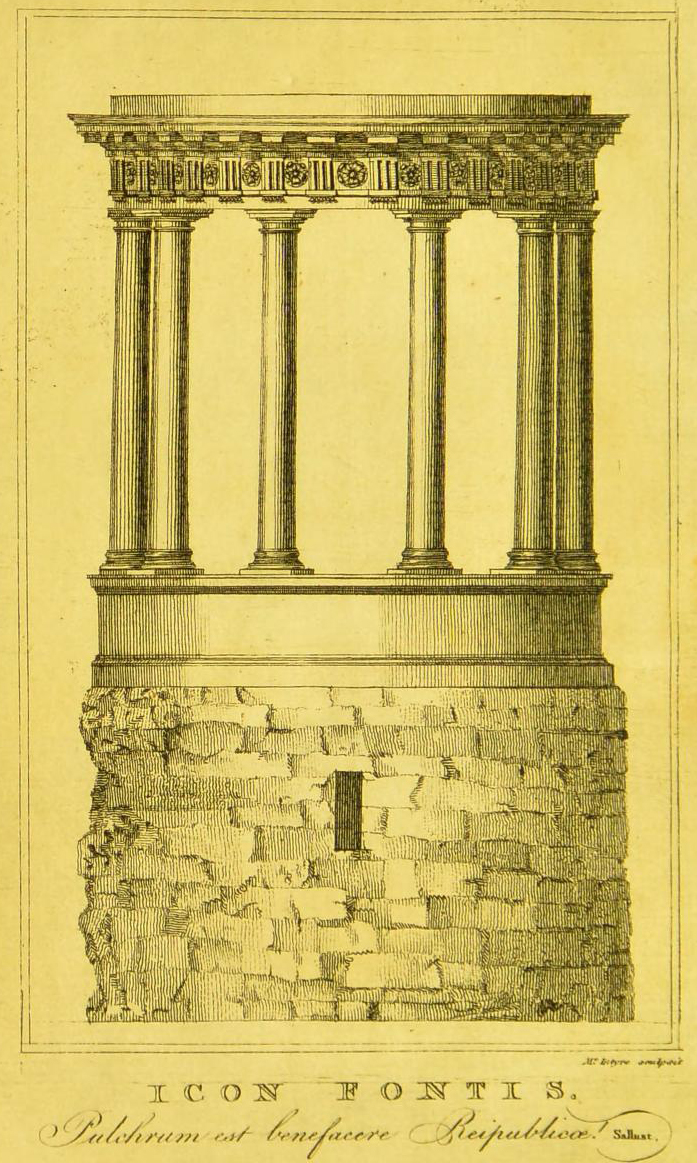 St Bernard's Well in 1790