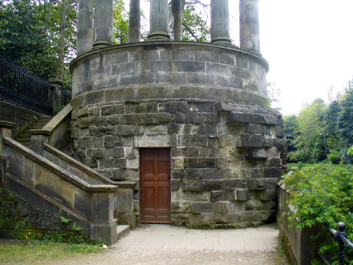 Entrance to the well